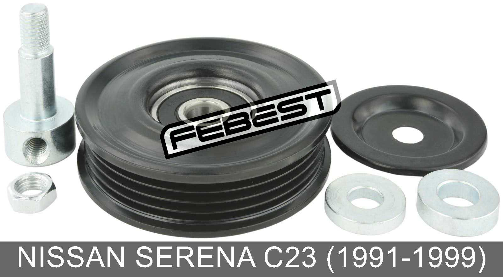 Pulley Tensioner Kit For Nissan Serena C23  1991