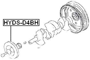 Kia K2700 Engine Diagram Trusted Wiring Diagrams Crankshaft Pulley D4bh4d56 Tci For 2004 Now Ebay K2900